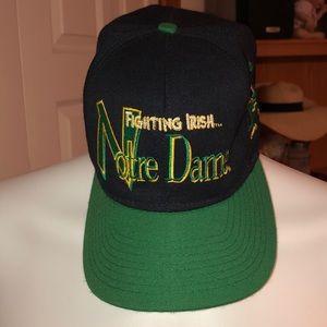 Vintage Notre Dame Fighting Irish Hat